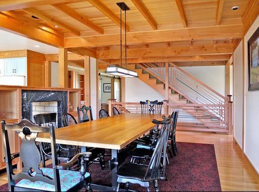 Fotos de techos - Techo de madera interior ...