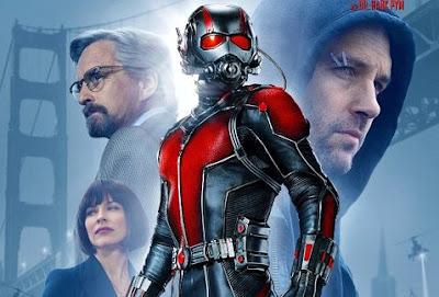Paul Rudd y su personaje Ant-Man