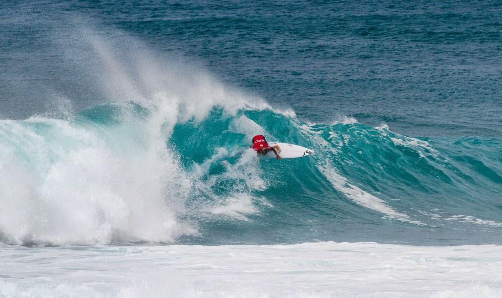 45 Vans World Cup of Sufing 2014 Josh Kerr Foto ASP