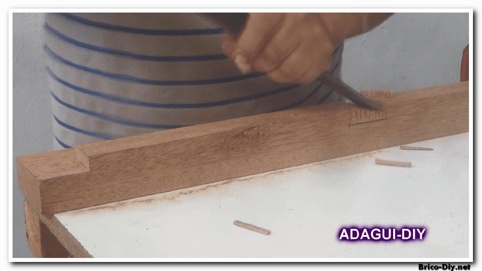 Como hacer marco de madera para puertas contraplacadas - Como hacer bricolaje ...
