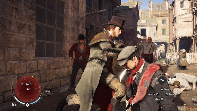 Assassin's Creed Syndicate jacob frye fight