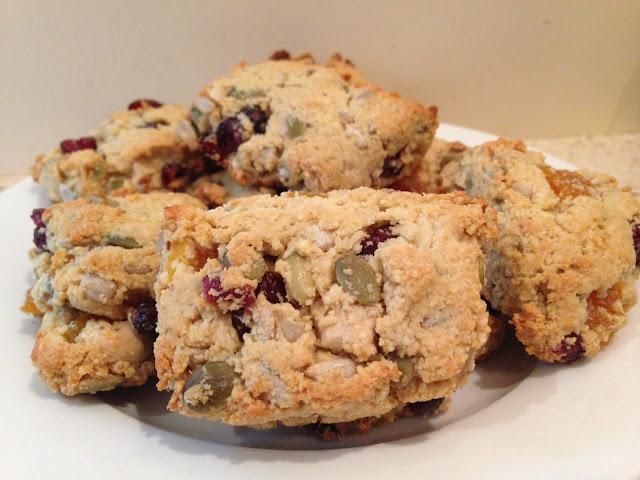 gluten free dairy free sugar free muesli scones