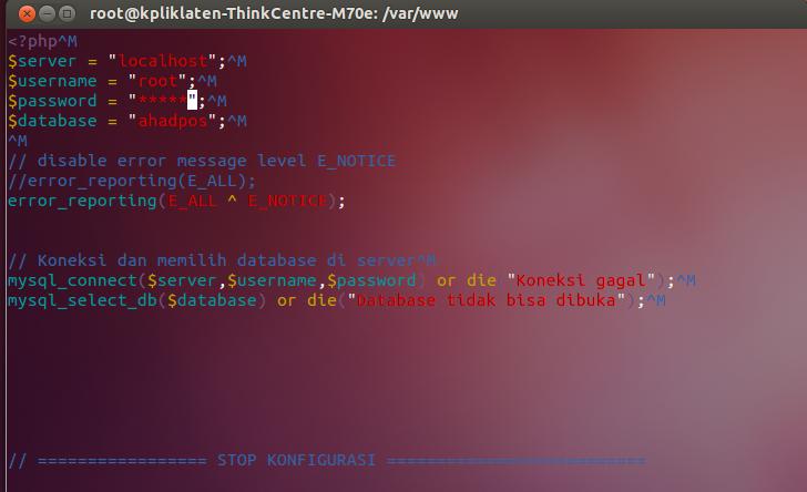 Mysql database backup and restore script