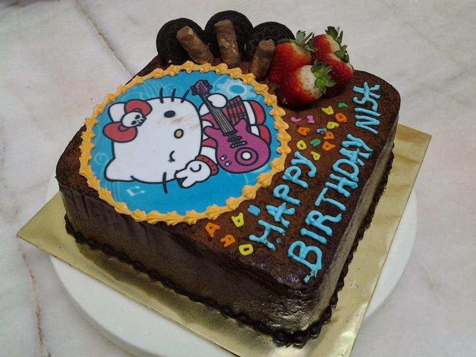 Kek Kukus Buah-Buahan: Absolute Chocolate Cake