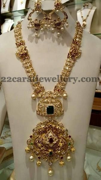 Pachi Long Chain Chandbalis