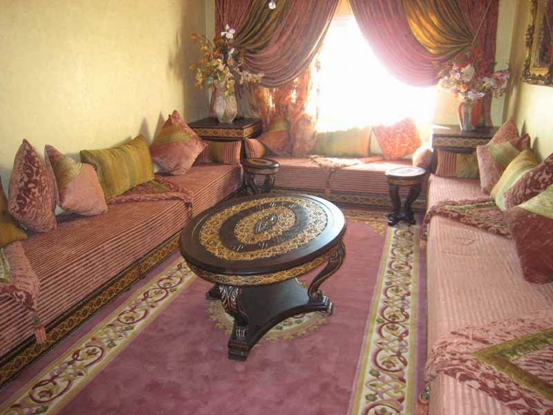 Le journal d 39 artisanat marocain un salon marocain design for Les decoration de salon