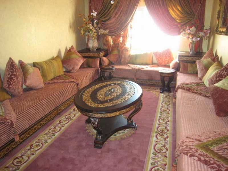 le journal d 39 artisanat marocain un salon marocain design. Black Bedroom Furniture Sets. Home Design Ideas
