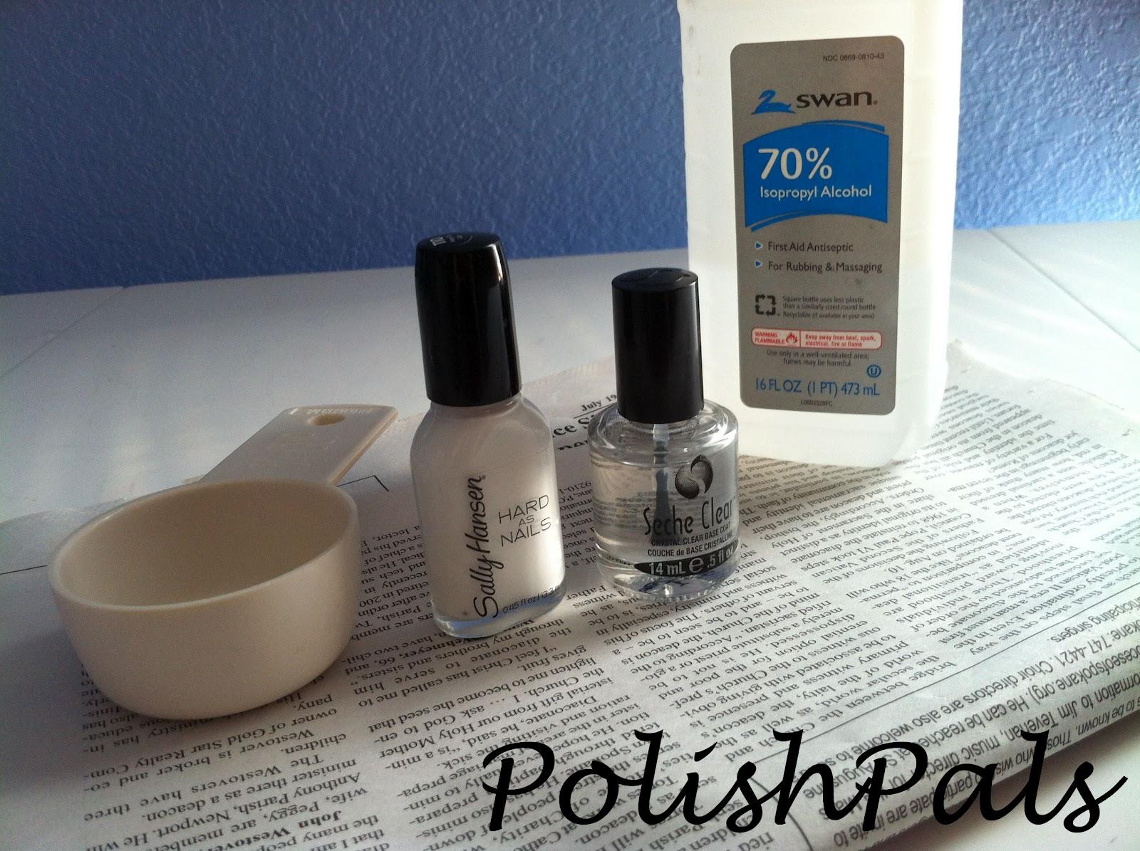 Polish Pals: Newspaper Nail Tutorial