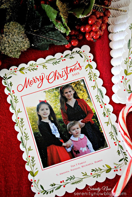 Family Christmas Card Ideas with Shutterfly, from Serenity Now