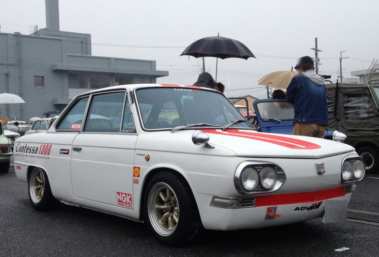 sportowe coupe, japońskie, Hino Contessa 1300, zdjęcia