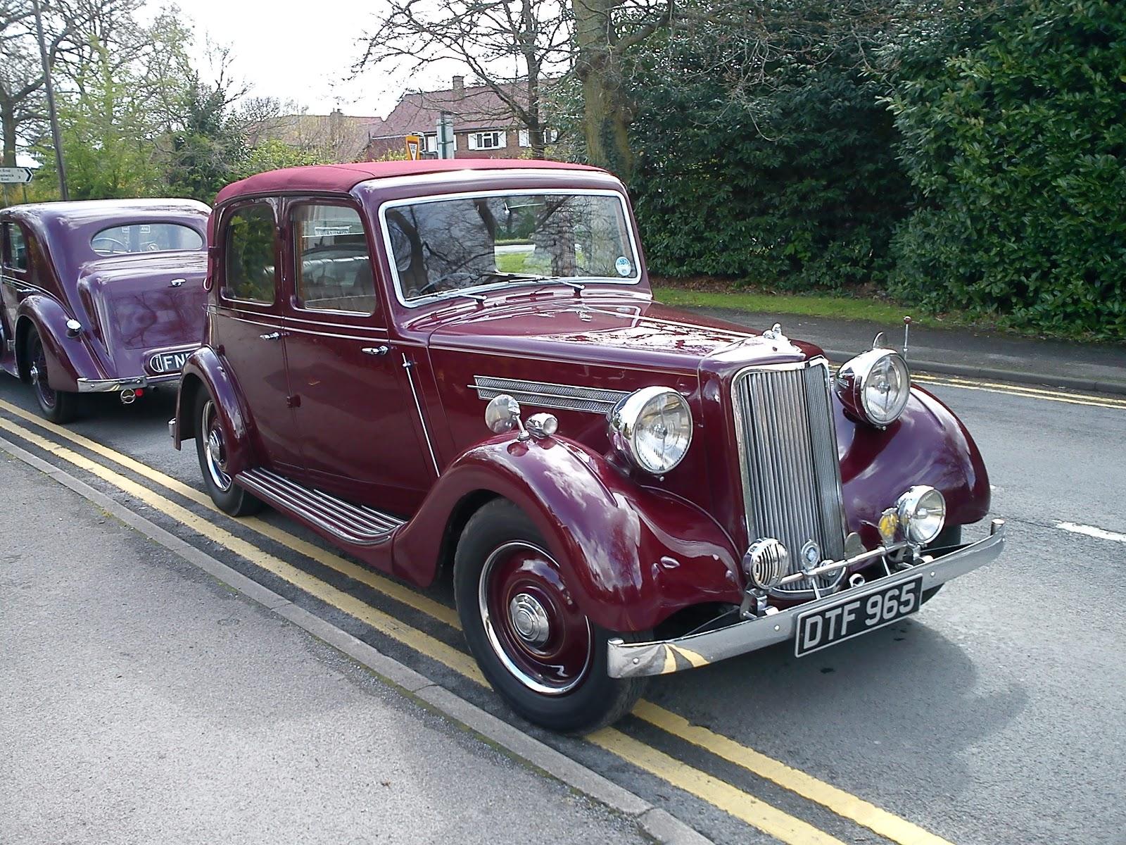 Classic Cars in Balsall Common, U.K.