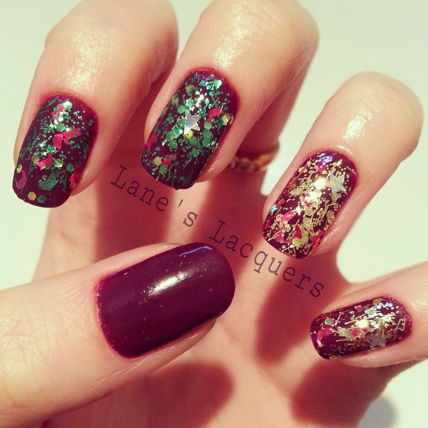 barry-m-christmas-tree-jingle-bells-berry-cosmo-swatch-nails