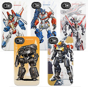 Hey everyone, check out these new iphone cases that feature my mecha .