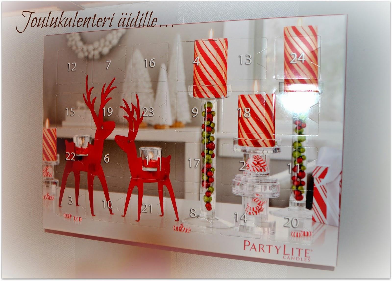 kynttilä joulukalenteri 2018 MadeInKoti: marraskuuta 2014 kynttilä joulukalenteri 2018