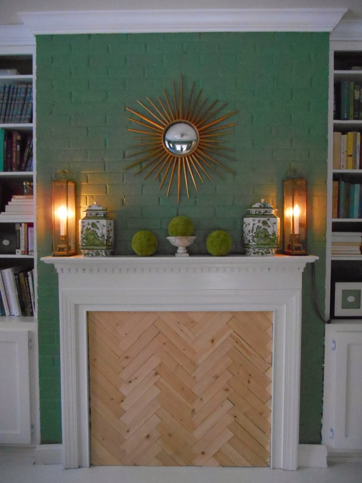 My notting hill blog - One Room Challenge Now The Herringbone Insert