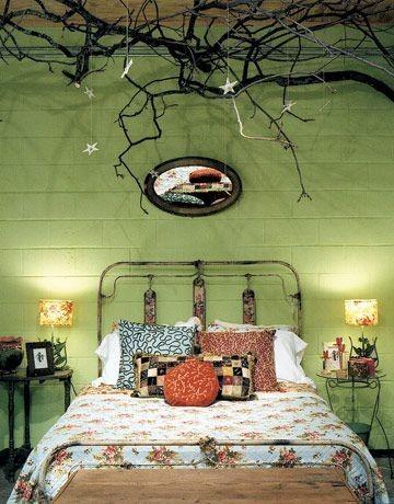 Casa katrine: soveværelse med farver