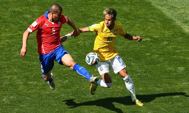 Piala Dunia 2014: Brazil Menang 3-2 Penentuan Penalti Ke Atas Chile