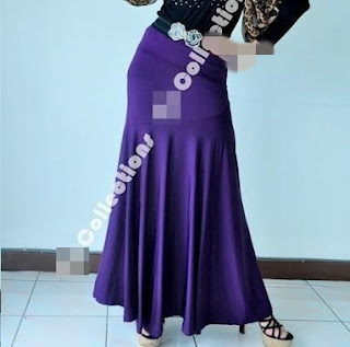 Skirt Labuh 680 Purple