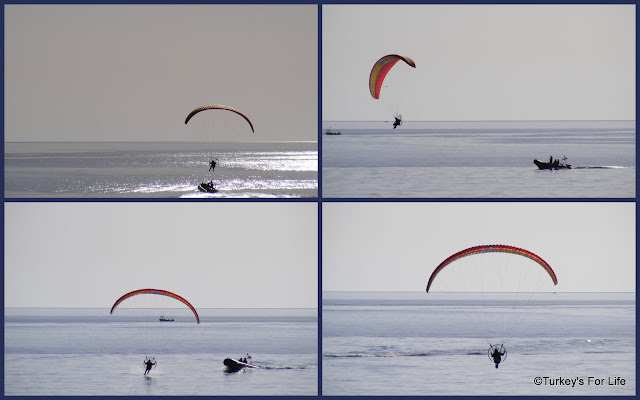 Paramotors At The Ölüdeniz Airgames 2012