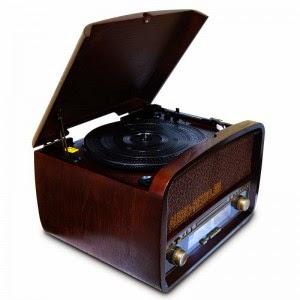 Ретро радиола Camry CR1112 с проигрывателем винила, радио, CD, USB, MP3 и записью на флешку