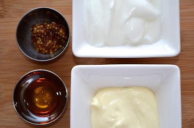honey and mustard dressing {creamy}