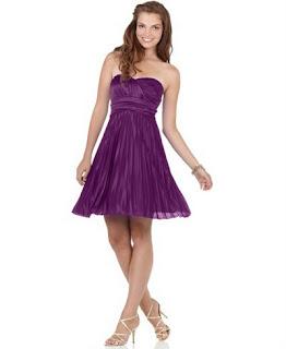 vestidos curtos para festa na cor roxa