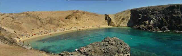 Lanzarote playa Canarias