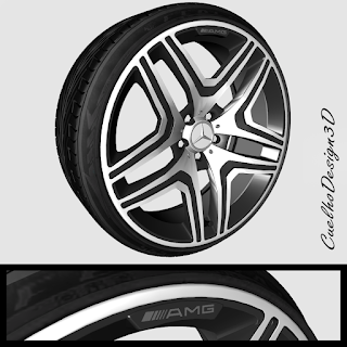 ZM - RODA: Mercedes ML63 - AMG