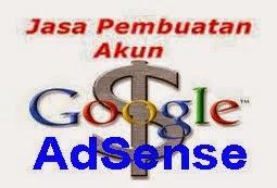 Jasa Pembuatan Akun Google Adsense