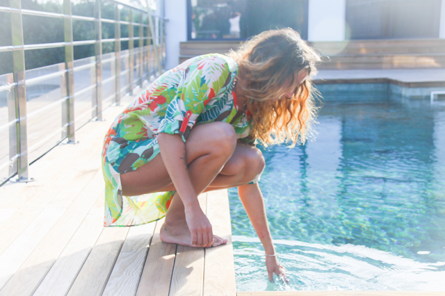 bensimon,ines,tunique de plage,kurta,imprimé exotique,lake loft hossegor,hossegor,summer 2015