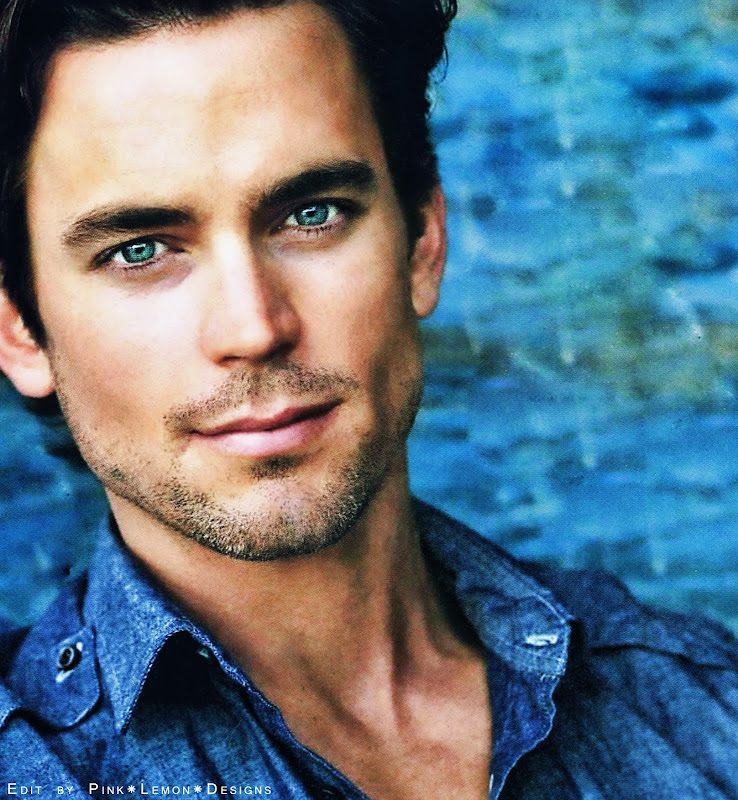 Beautiful hairy man Matt Bomer from USA. title=