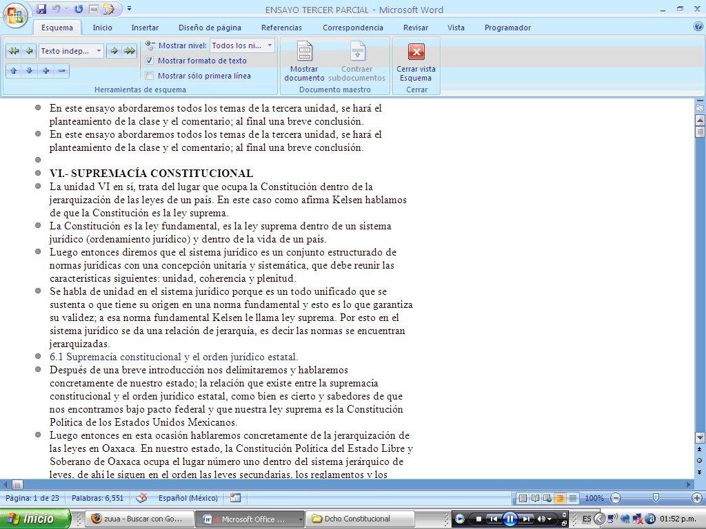 Contemporáneo Reanudar Word Esquema 2007 Imagen - Colección De ...