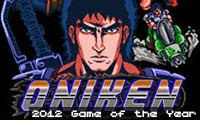 Oniken: 2012 Game of the Year