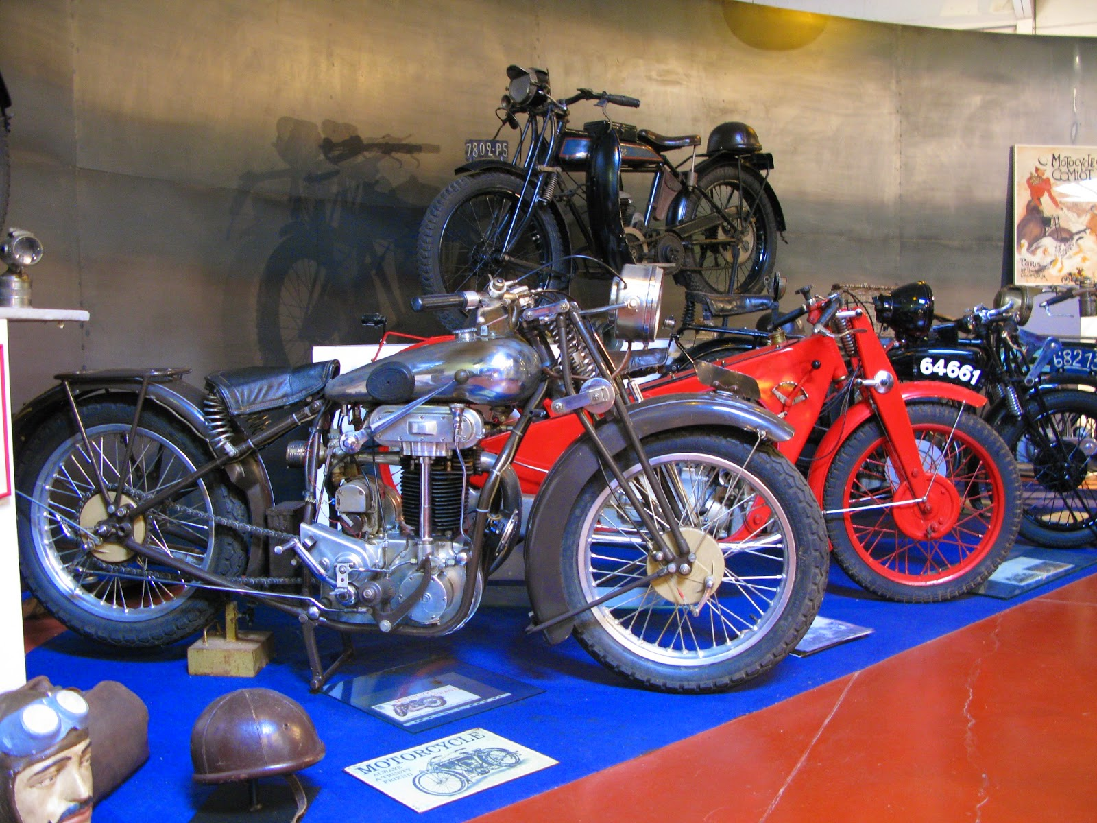 BD Praga motorcycle from 1927