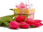 Обмен подарками к 8 марта