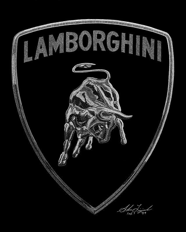 Exotic Engravings Lamborghini Logo Lamborghini North America