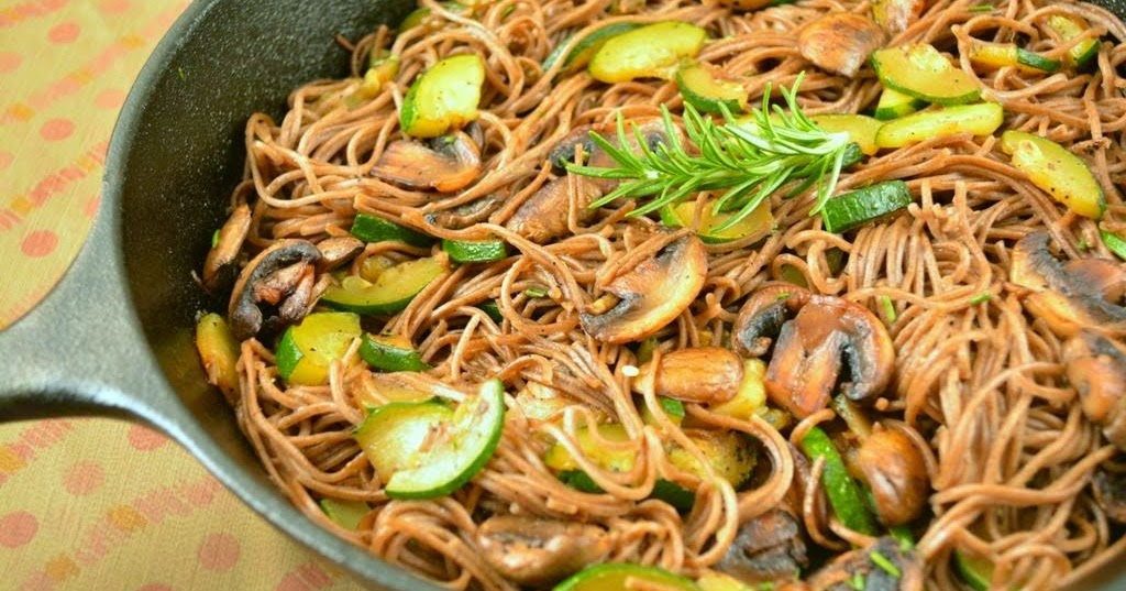 how to cook zucchini mushrooms