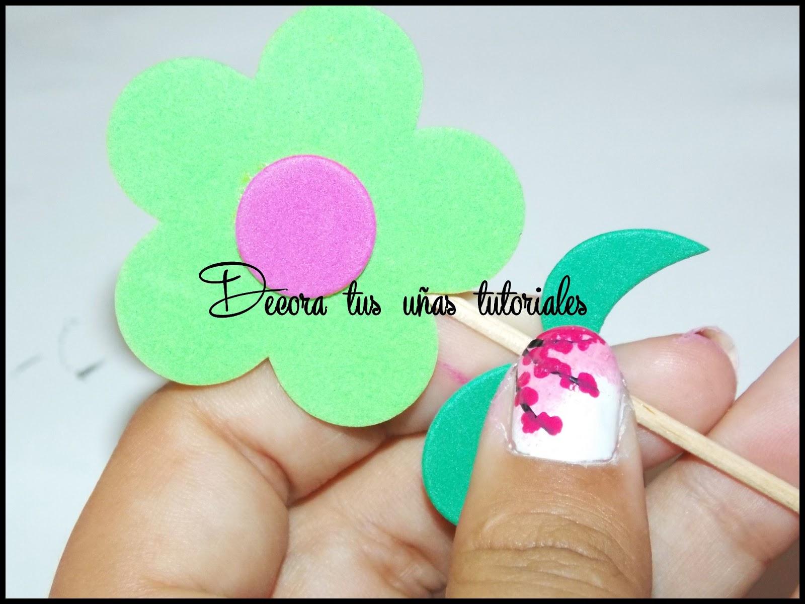 Decoración de uñas: Cherry blossoms~