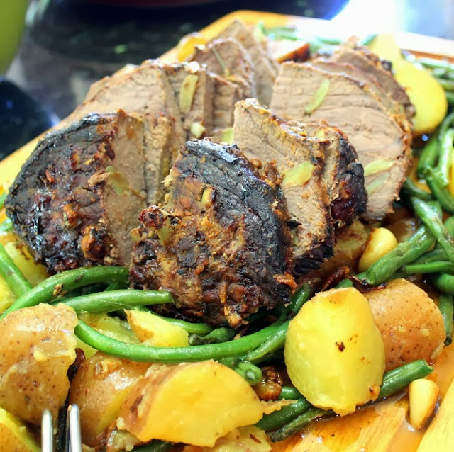 30 garlic peppercorn beef roast - 52 beef recipes