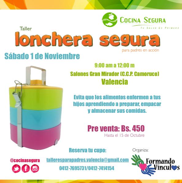 Valencia: Lonchera Segura