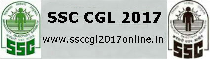 SSC CGL 2017 | Notification | Syllabus | Online Application