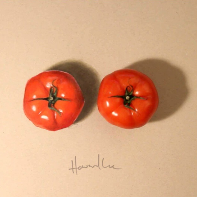 09-Red-Tomatoes-Howard-Lee-Time-Lapse-Videos-of-Drawings-and-Paintings-www-designstack-co