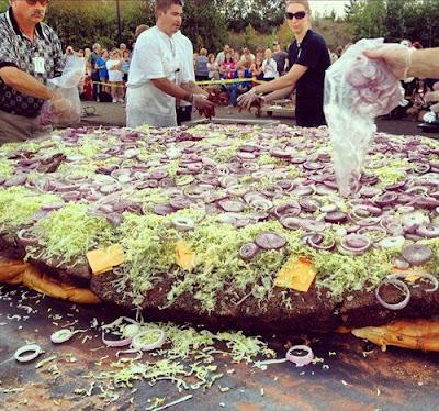 la hamburguesa más grande del mundo curiosidades