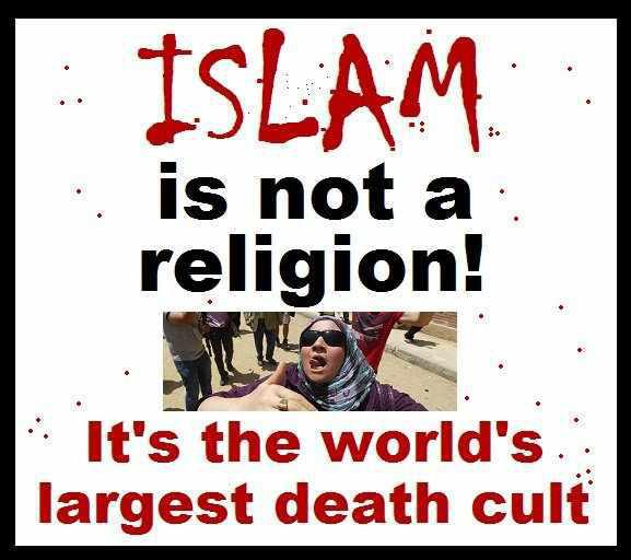 god hate muslims wrong death islam murdering islamic scum