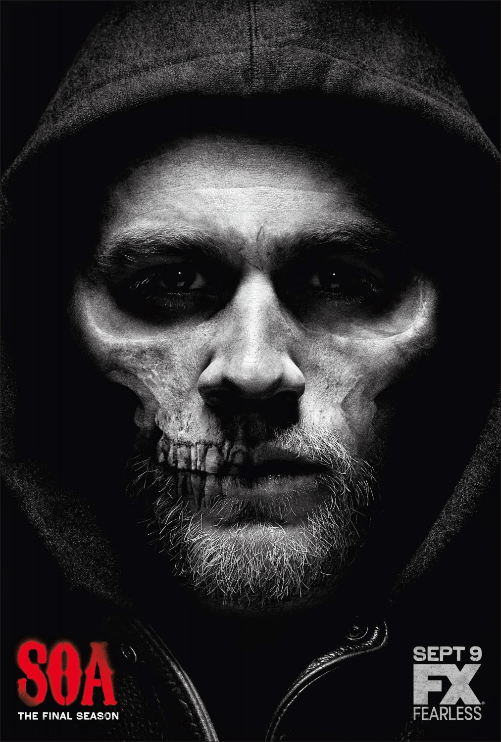 Sons of Anarchy: The Final Season One Sheet Teaser Television Poster