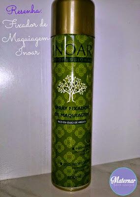 Spray Fixador de Maquiagem Inoar
