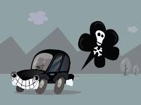carros: máquinas de poluição