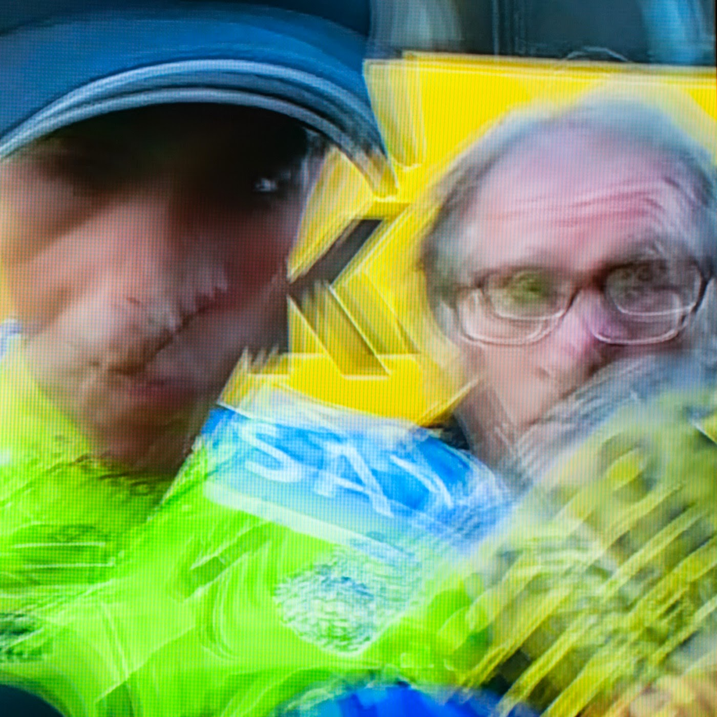 le tour de france, motion blur, blur, abstract, abstraction, tim macauley, photographic art, you won't see this at MoMA, appropriation, found imagery, le tour 2014, tv footage, portrait, timothy Macauley, the light monkey collective, grand cycling tour, Vincenzo Nibali, Team Astana
