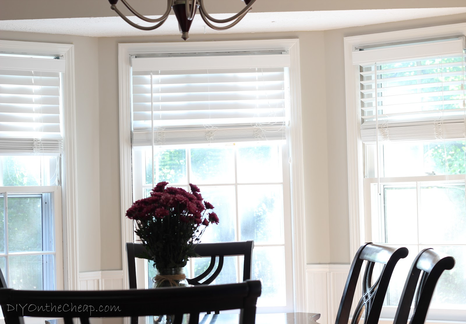 dining room makeover {phase one} - erin spain