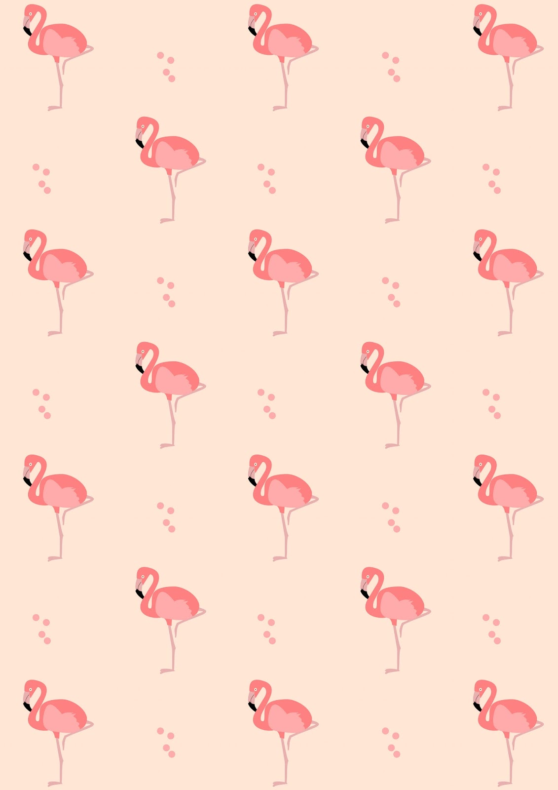 Free digital flamingo scrapbooking paper ausdruckbares for Paper design wallpaper